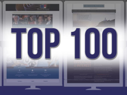 Ranking The Top Websites From Barron's Top 100 Advisors